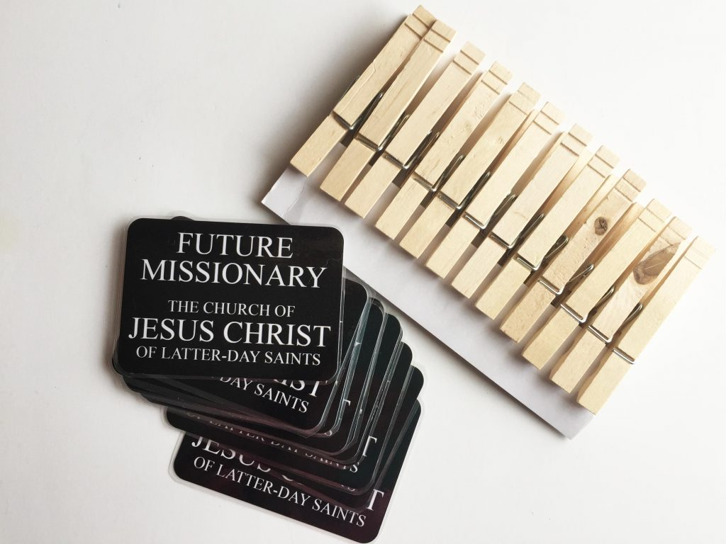 Camille's Primary Ideas: Music Bag Missionary Tags