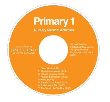 Camille's Primary Ideas: Nursery Musical Activities CD
