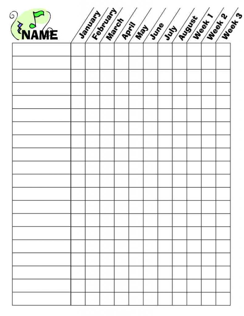 Camille's Primary Ideas: Primary Music CD Challenge Worksheet
