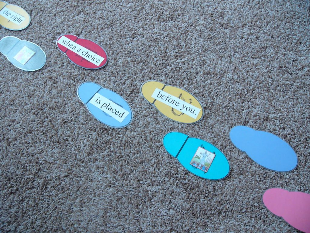 Camille's Primary Ideas: Choose the Right Singing Time Lesson Plan Idea