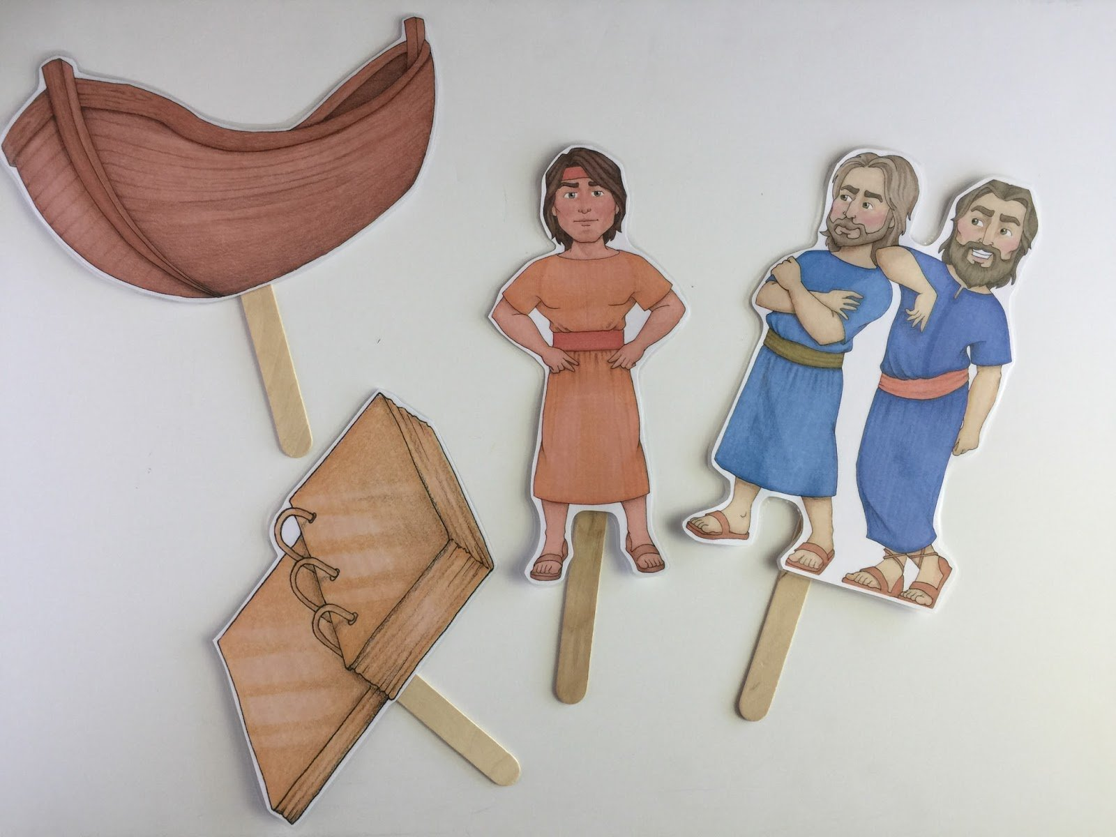 Camille's Primary Ideas: Nephi's Courage Singing Time Lesson Plan Idea with artwork by Susan Fitch