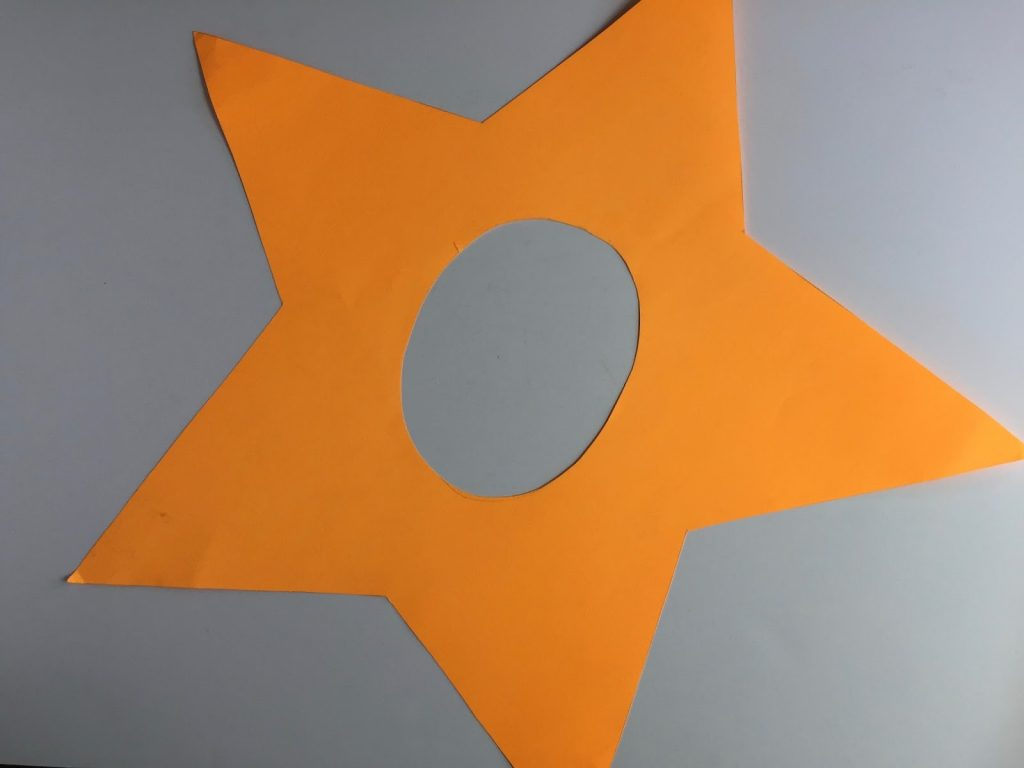 Camille's Primary Ideas: Every Star is Different singing time lesson plan activity for teaching the 1st and 2nd verses