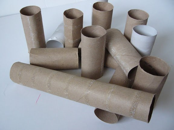 Camille's Primary Ideas: Samuel Tells of the Baby Jesus using toilet paper tubes to teach the chorus