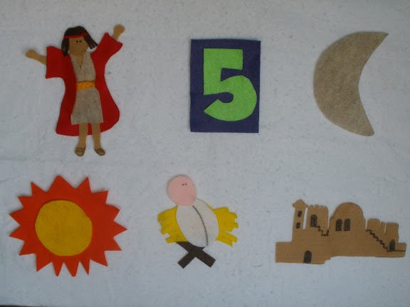 Camille's Primary Ideas: Samuel Tells of the Baby Jesus using Singing Time Lesson Plan using a felt board
