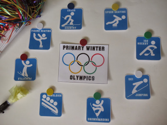 Camille's Primary Ideas: Winter Olympics Singing Time Lesson Plan Review Idea