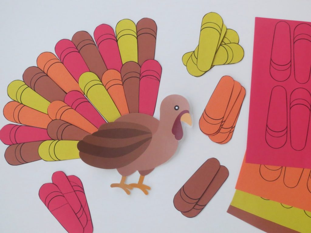 Camille's Primary Ideas Singing Time Lesson Plan for I Am Glad for Many Things using a Thanksgiving Turkey