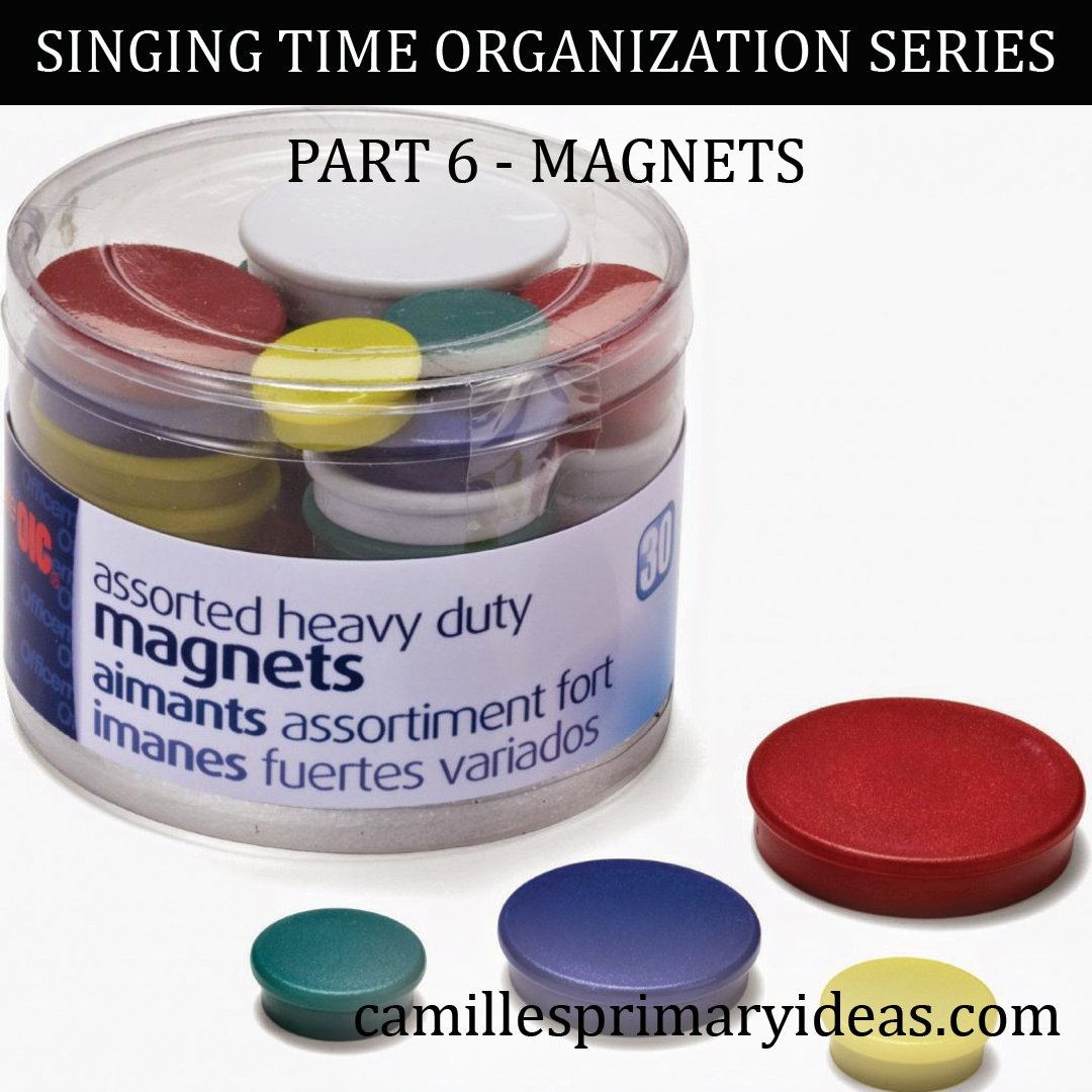 Camille's Primary Ideas: SINGING TIME ORGANIZATION SERIES Part 6 - Magnets