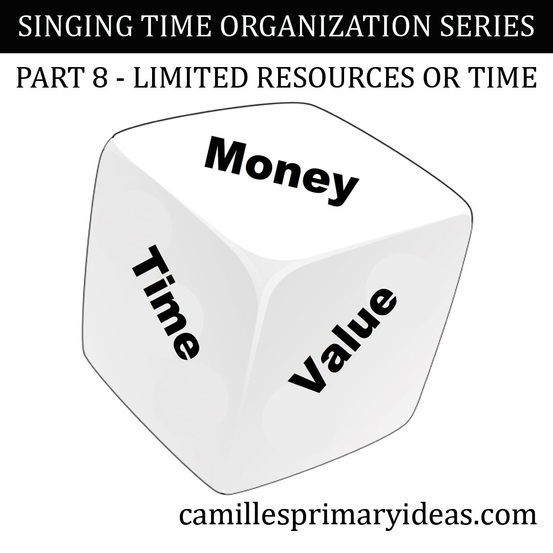 Camille's Primary Ideas: SINGING TIME ORGANIZATION SERIES Part 8 - Limited Resources or Time