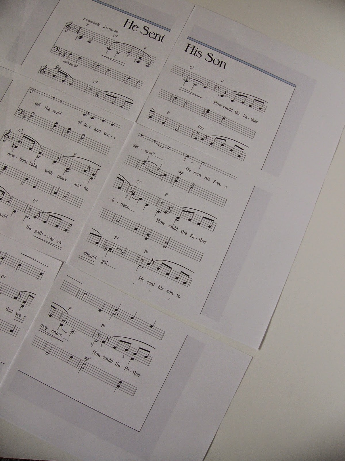 Camille's Primary Ideas: Putting the Feeling into He Sent His Son Singing Time Lesson Plan Review Idea