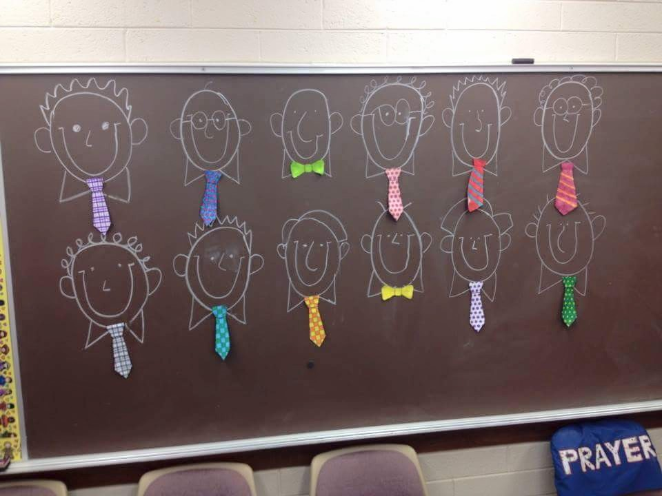 Father's Day Ties Singing Time Activity