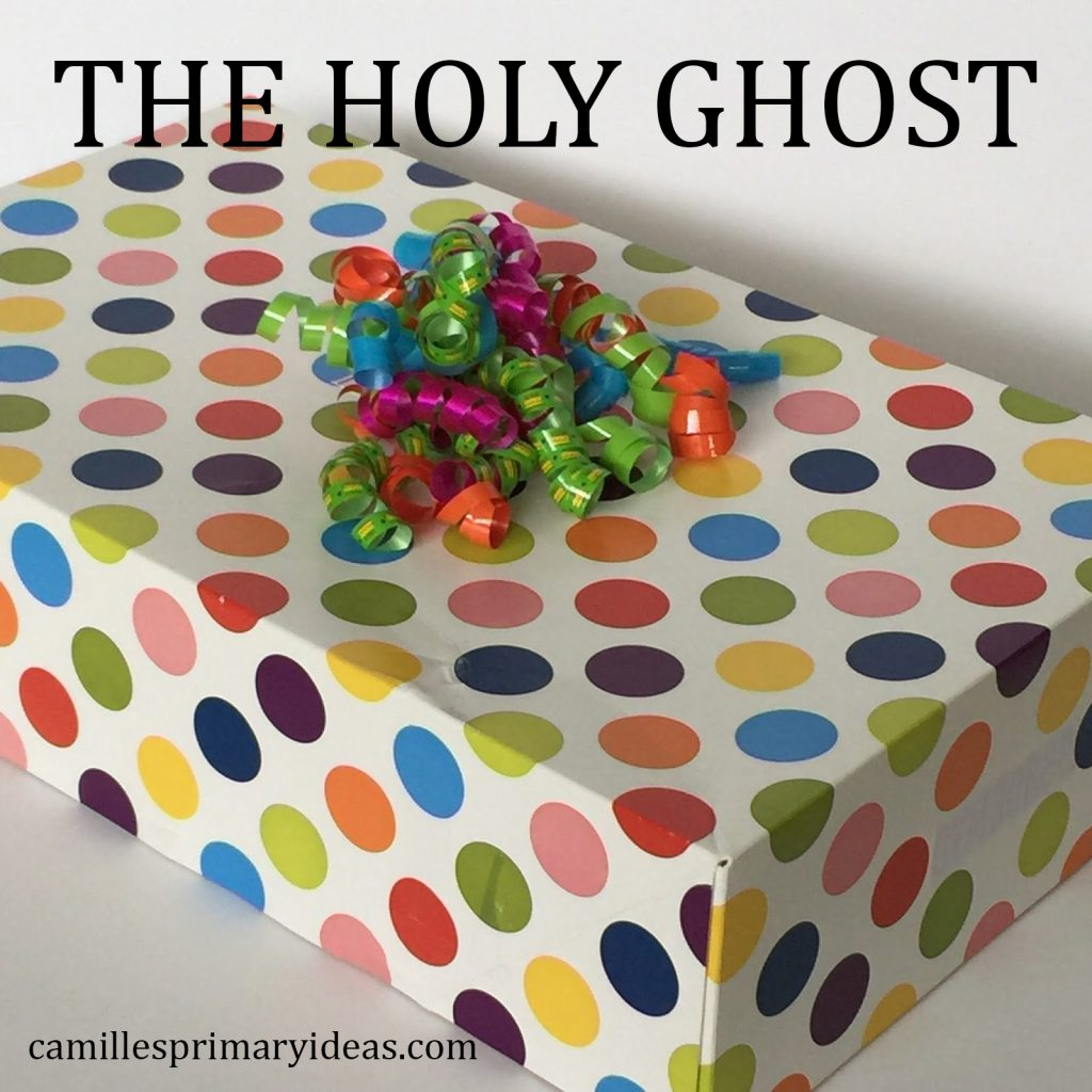 Camille's Primary Ideas Singing Time Lesson plan for The Holy Ghost