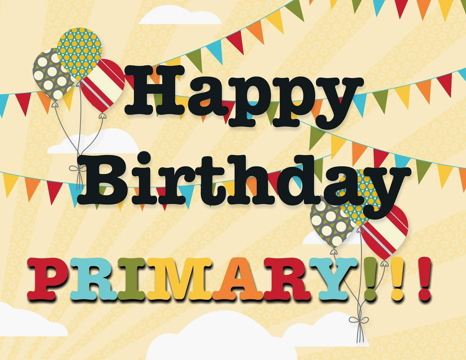 Camille's Primary Ideas: Primary Birthday Party using We Welcome You Singing Time Lesson Plan Idea