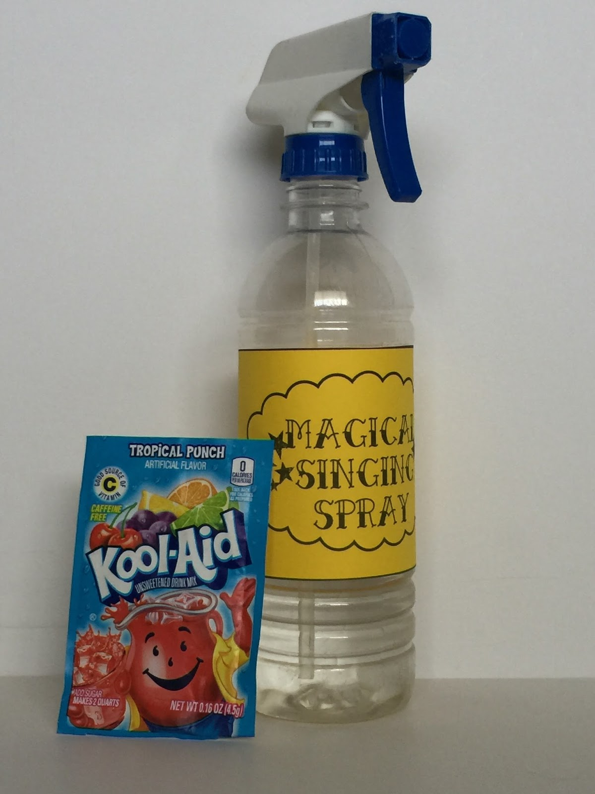 Camille's Primary Ideas: Magical Singing Spray Singing Time Review lesson plan