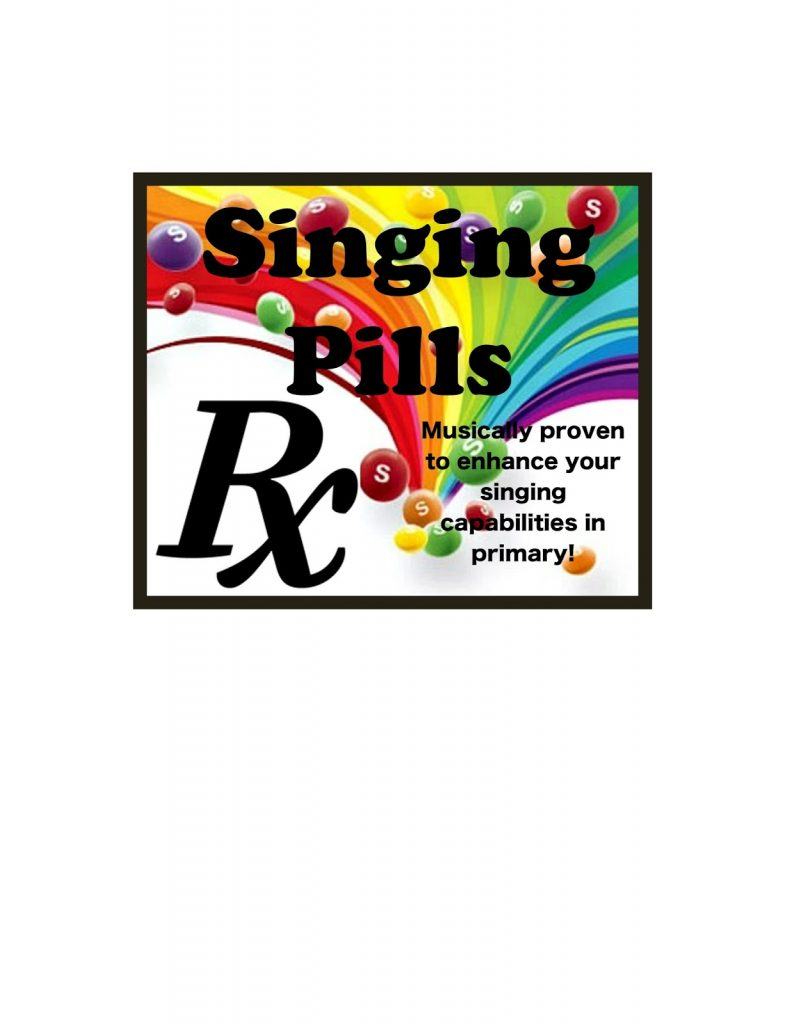 Camille's Primary Ideas: Magical Singing RX Pills singing time lesson plan review activiity