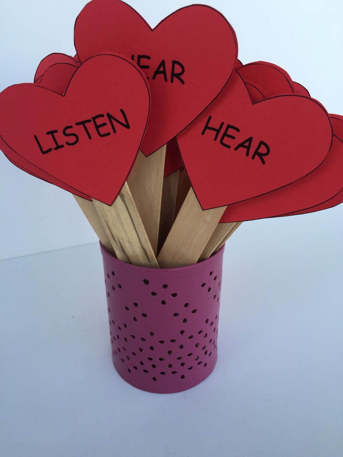 Camille's Primary Ideas: If I Listen With My Heart singing time lesson plan activity