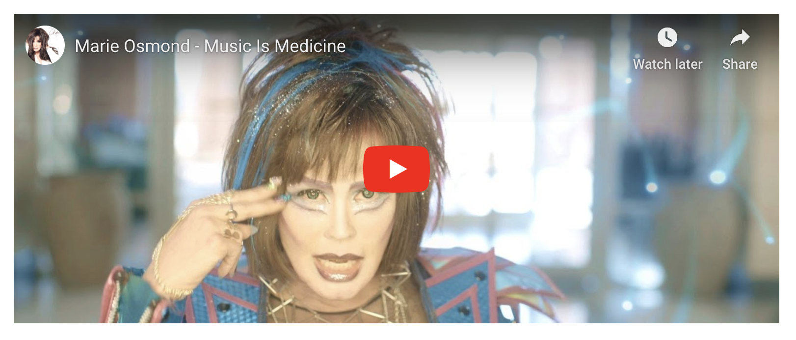 Marie Osmond: Marie Osmond Music is Medicine