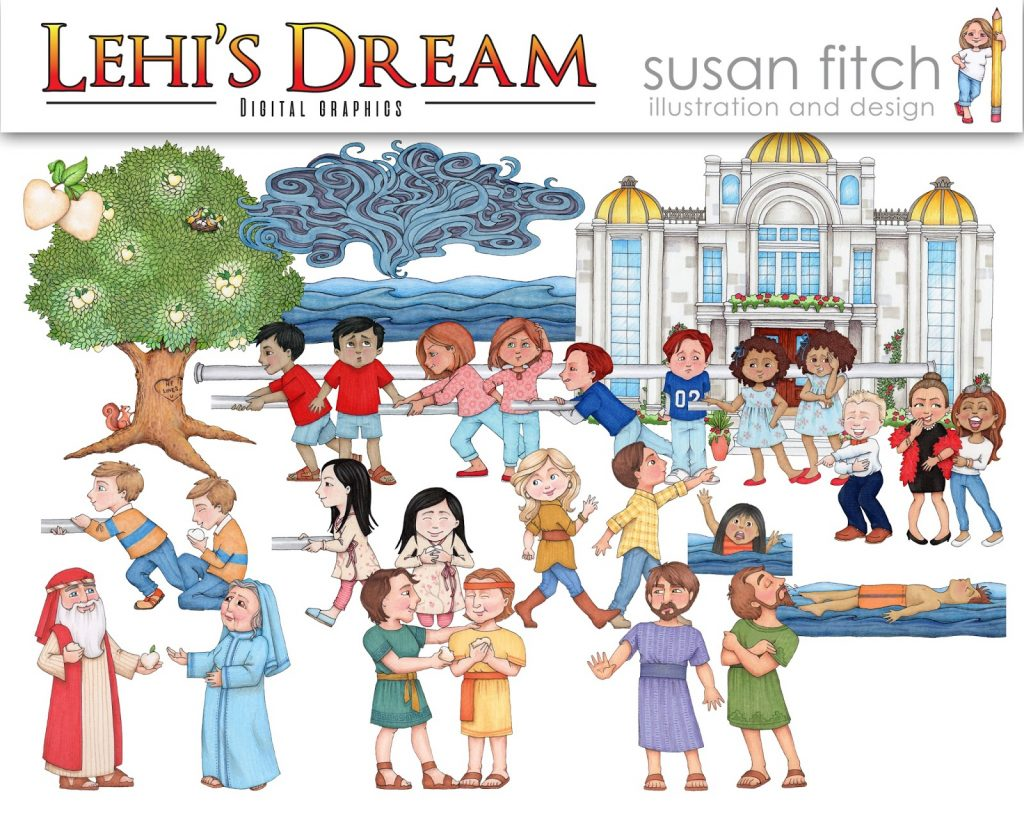 Camille's Primary Ideas: Susan Fitch Artwork Giveaway for Lehi's Dream