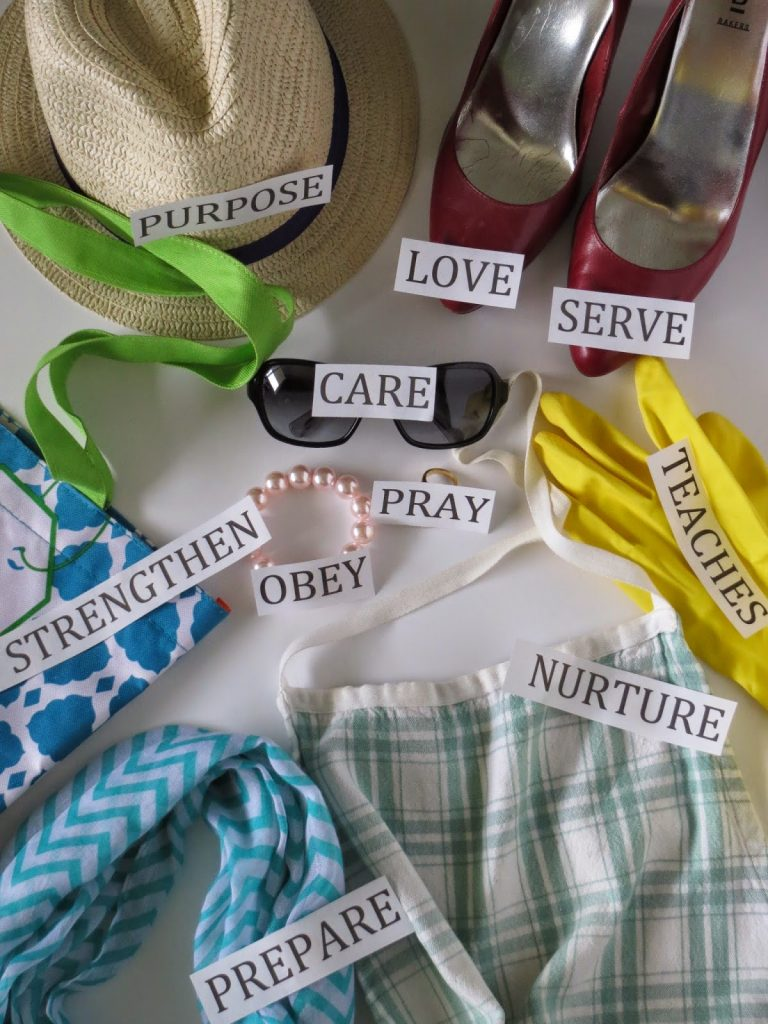 Camille's Primary Ideas: The Family is of God Singing Time Lesson Plan Idea using household props