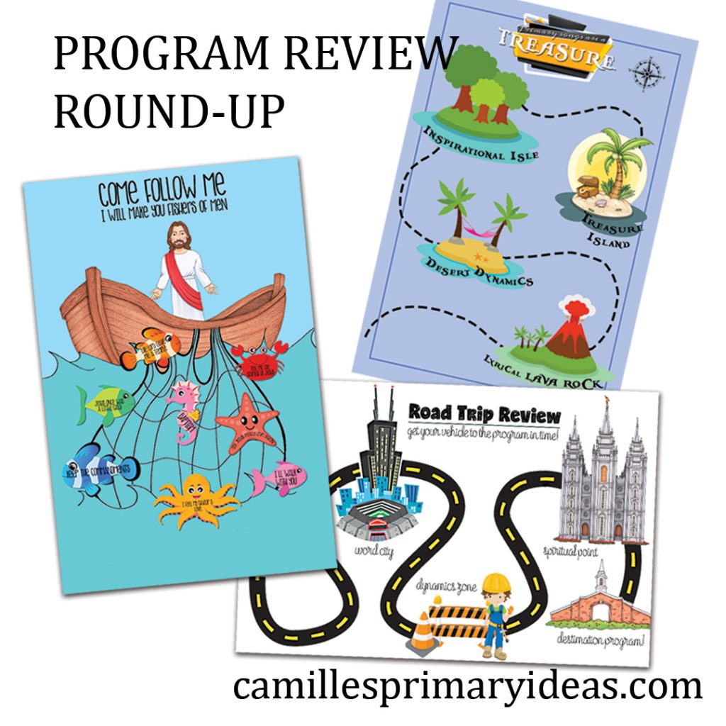 Camille's Primary Ideas: Primary Program Review Round-Up