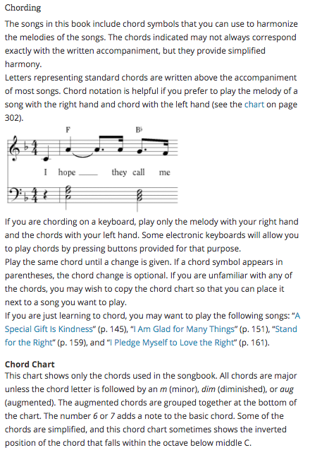 Camille's Primary Ideas: Using Chording and Chords with Handbells