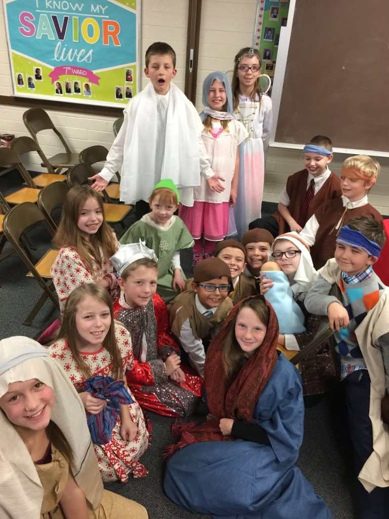 Camille's Primary Ideas: Sing a Christmas Story, a Christmas Song Nativity