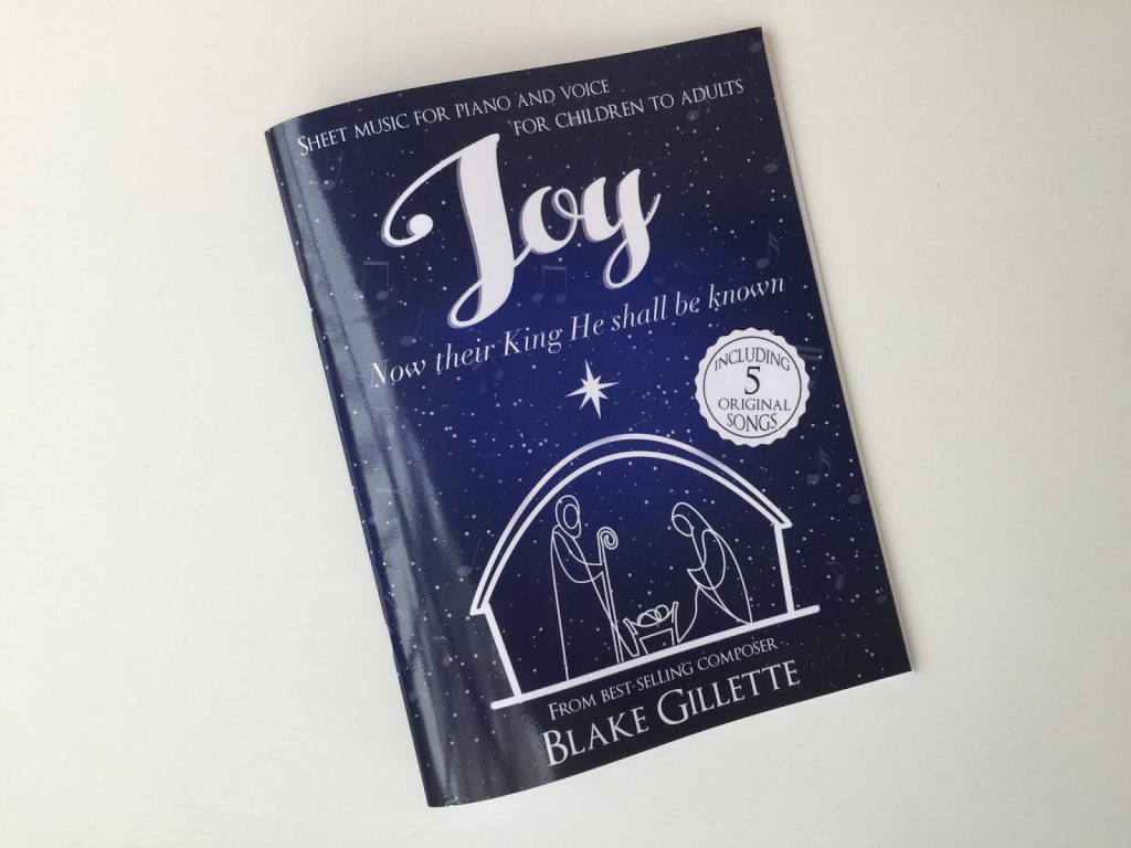 Camille's Primary Ideas: Blake Gilette Joy Now Their King He Shall Be Know Giveaway
