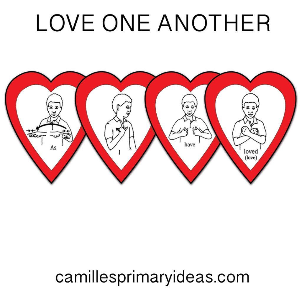 Love One Another Singing Time Lesson Plan Idea