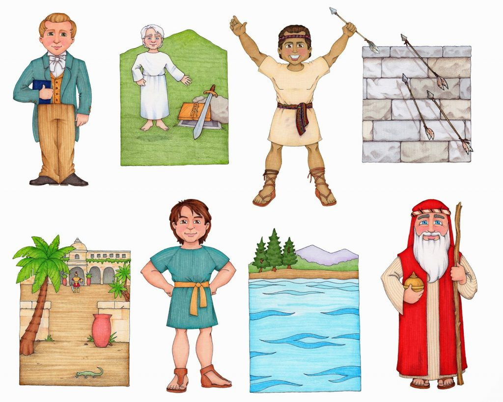 Camille's Primary Ideas: Follow the Prophet Book of Mormon Lost Hymns Clipart by Susan Fitch
