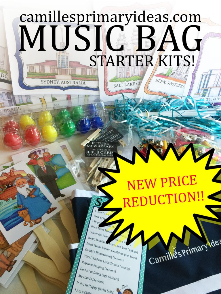 Camille's Primary Ideas: Music Bag Starter Kits price reduction