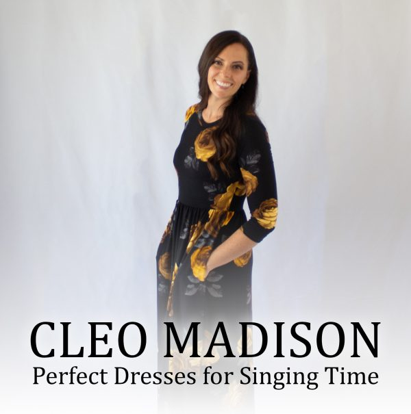 Camille's Primary Ideas LOVES Cleo Madison, the perfect dresses for singing time
