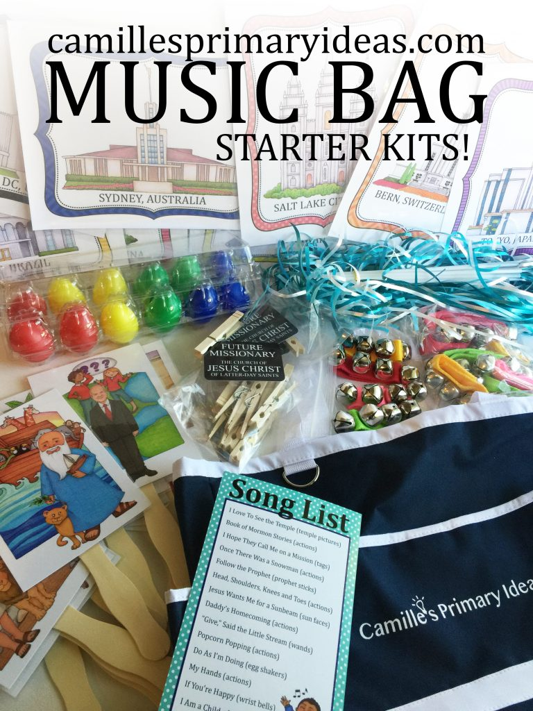 Camille's Primary Ideas: Music Bag Starter Kits Cover
