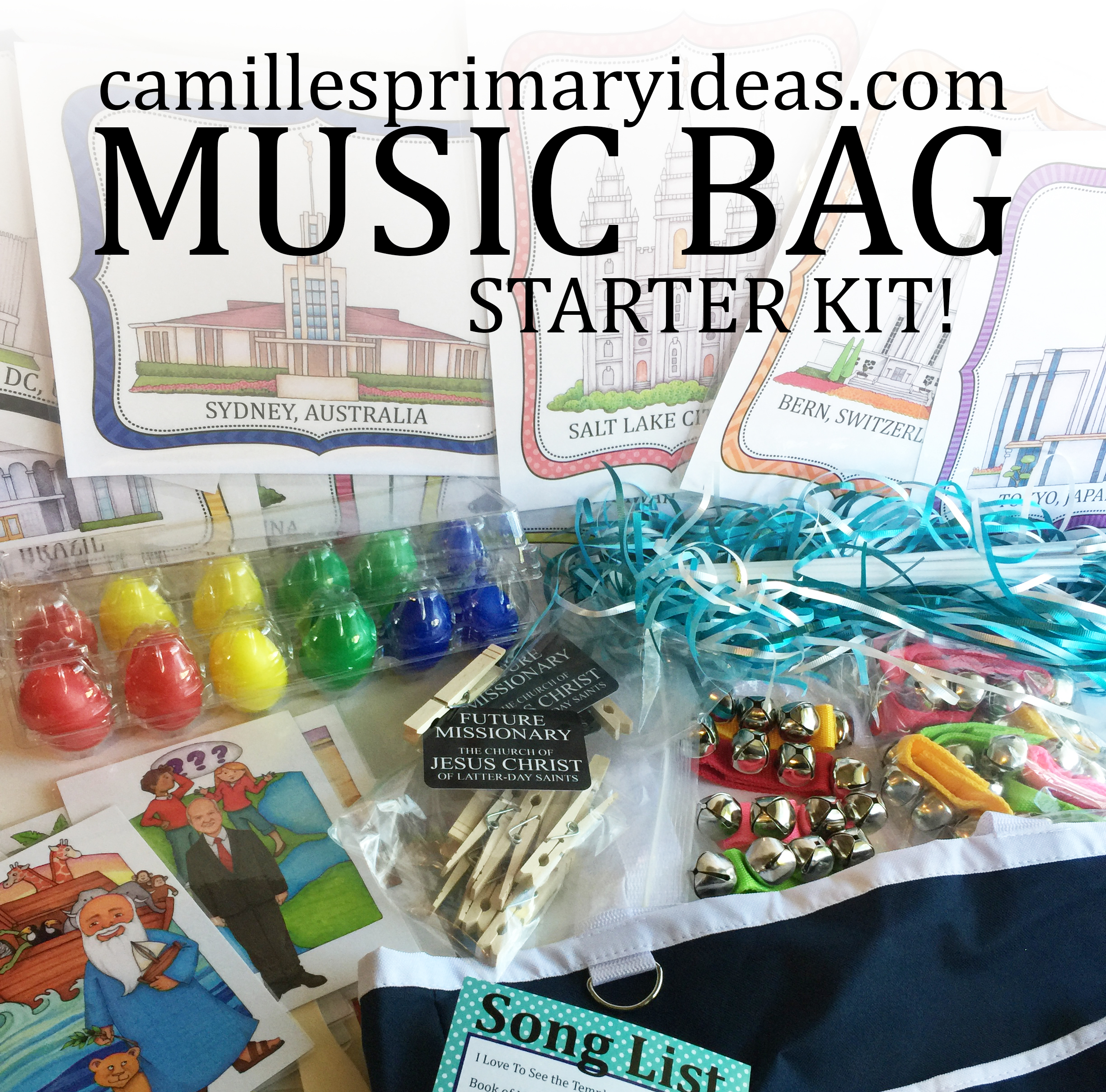 Camille's Primary Ideas Music Bag Starter Kit