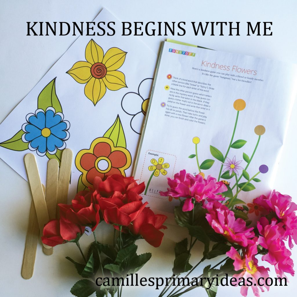Camille's Primary Ideas: Kindness Begins with Me