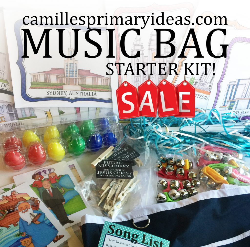 Camille's Primary Ideas: Music Bag Starter Kits are on sale