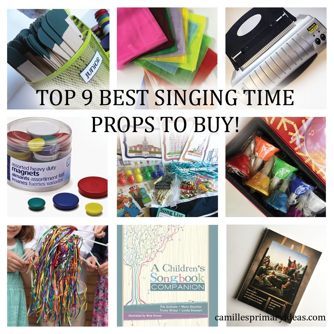 Camille's Primary Ideas: Top 9 best singing time props to buy