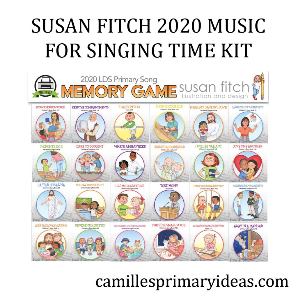 Camille's Primary Ideas: Susan Fitch 2020 Music for Singing Time Kit