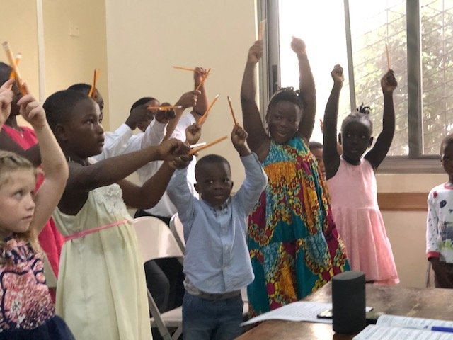 Camille's Primary Ideas singing time idea reaches Africa