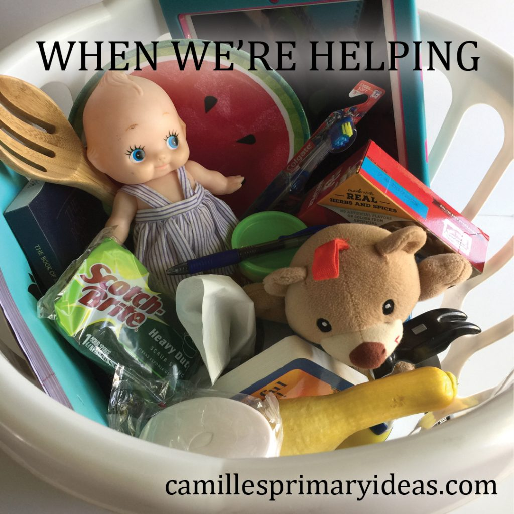 Camille's Primary Ideas: When We're Helping singing time idea