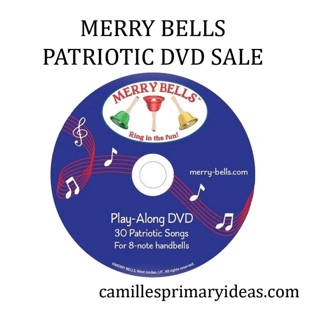 Camille's Primary Ideas: Patriotic DVD Sale