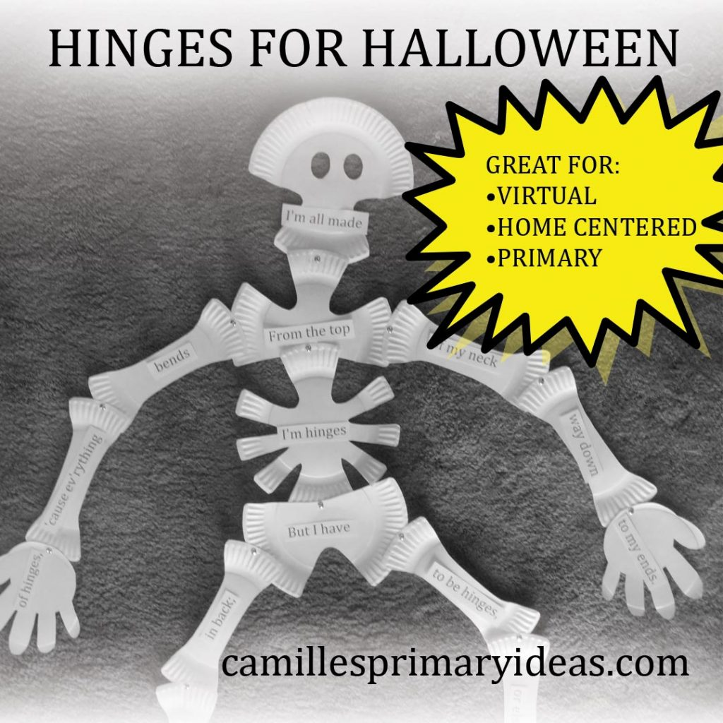 Camille's Primary Ideas: Hinges for Halloween in singing time