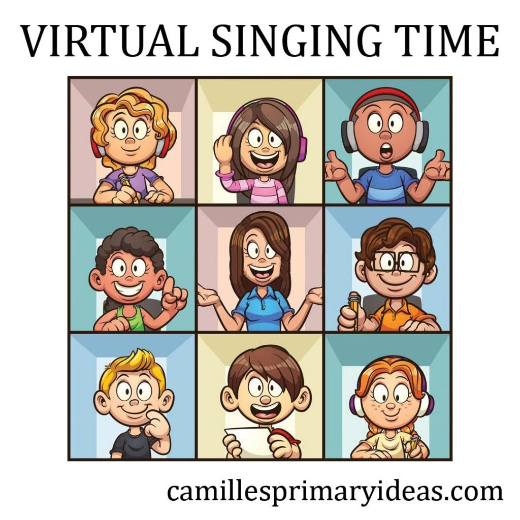Camille's Primary Ideas: Virtual Singing Time