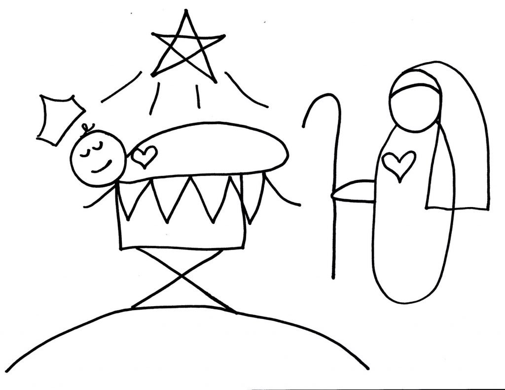 Camille's Primary Ideas: Away in a Manger Singing Time Lesson Plan Idea