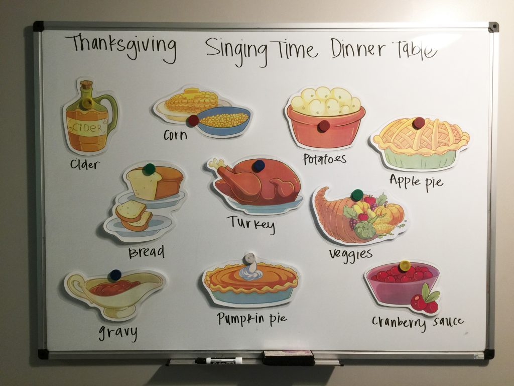 Camille's Primary Ideas: Thanksgiving Singing Time Dinner Table