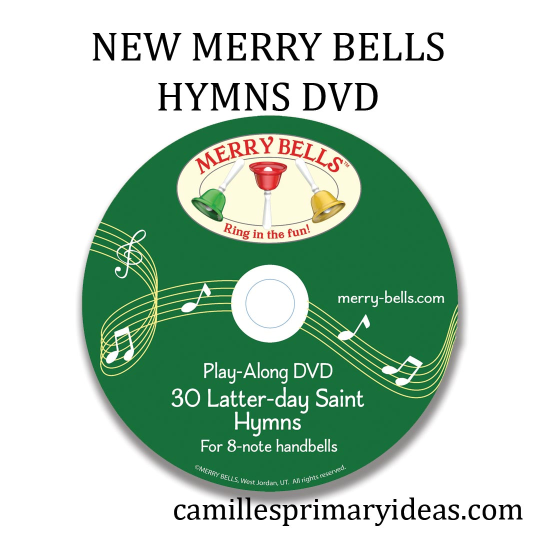 Camille's Primary Ideas: NEW Merry Bells Hymns DVD for home or singing time