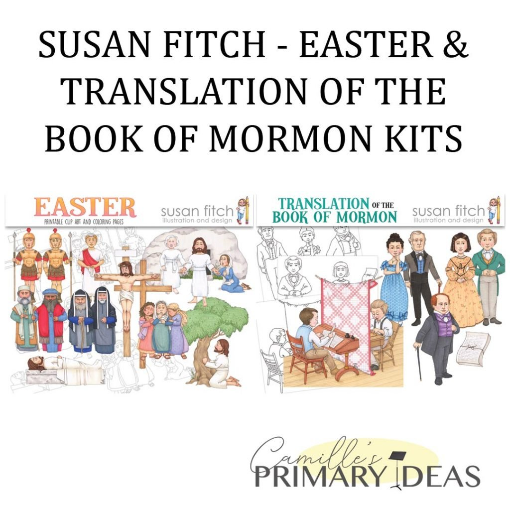 Camille's Primary Ideas: Susan Fitch Easter & Translation Kits