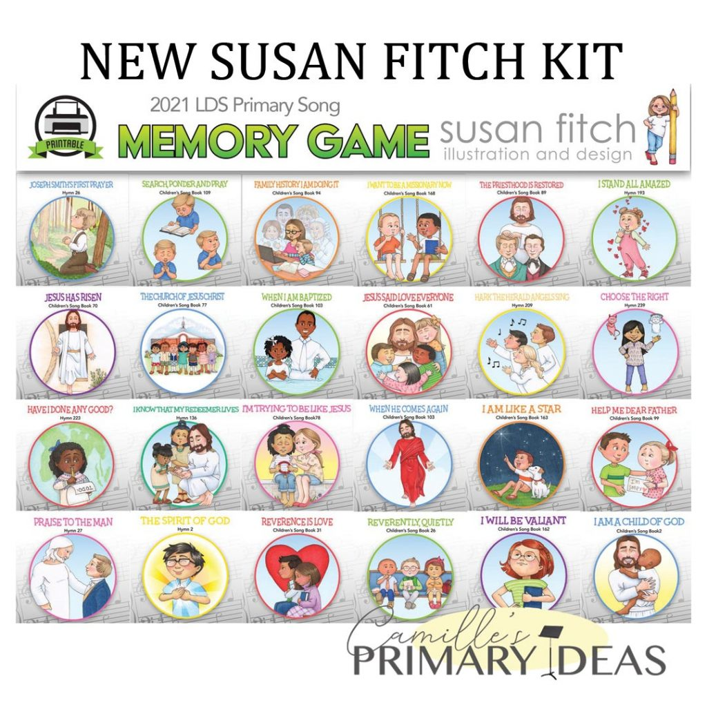 Camille's Primary Ideas: 2021 Memory Game Singing Time Ideas