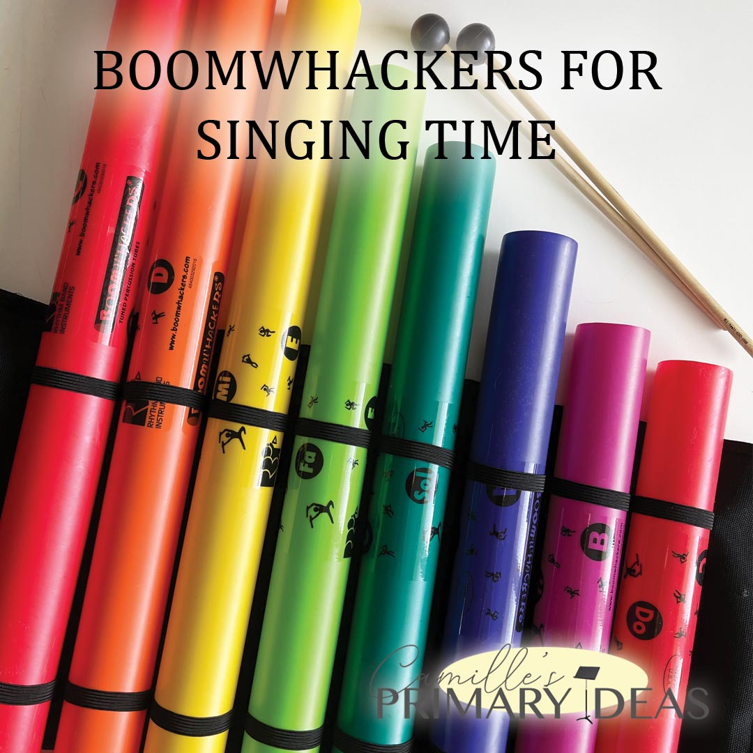 Camille's Primary Ideas: Boomwhackers for Singing Time