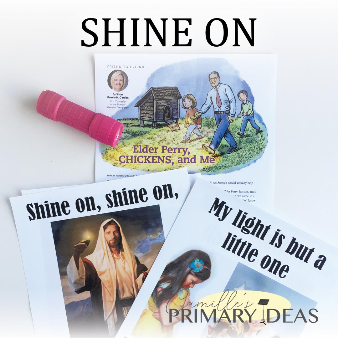 Camille's Primary Ideas: Shine On Singing Time Idea