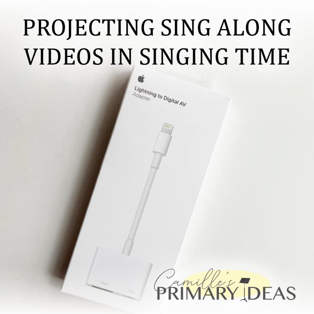 Camille's Primary Ideas: Projecting Sing Along Videos in Singing Time