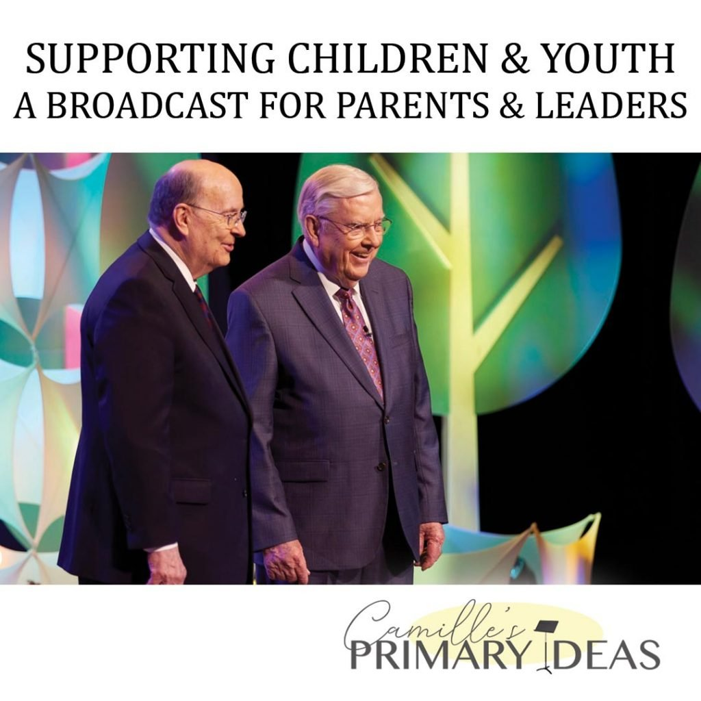 Camille's Primary Ideas: Supporting Children & Youth Broadcast